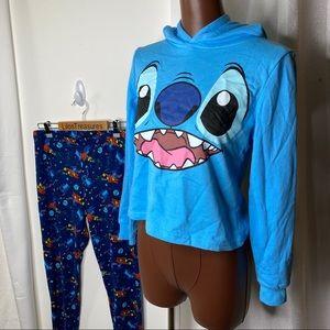 Disney Stitch PJ hoodie and pants